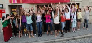Gruppenbild Mädchenzentrum Amazone