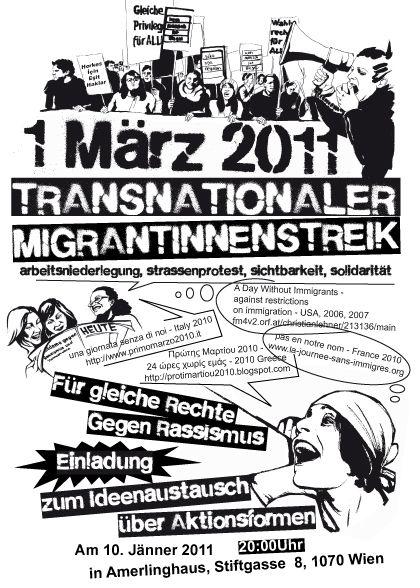 Transnationaler MigrantInnenstreik