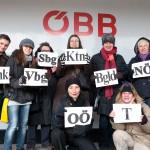 ÖBB Eventticket zur Demo