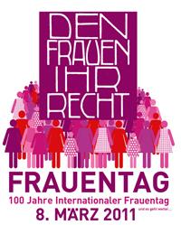 Frauen Land Salzburg, Plakat Frauentag 2011