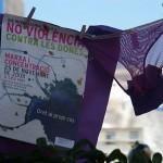 Feministes indignades a plaça Catalunya