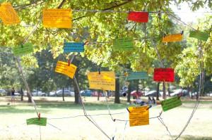 Bilder zum Frauenpunkt Volksstimmefest September 2011