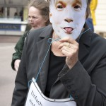 Straßenaktionen gegen Korruption /