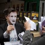Anti-Korruptions - Straßenaktion 5.5.2012