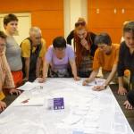 Zeltstadtvorbereitungen beim Plenum