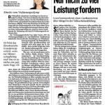 Artikel Kleine Zeitung, 18.1.2013