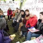 Frauenpunkt am Volksstimmefest 2012