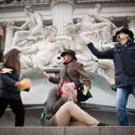 Flashmob gegen gemeinsame Obsorge durch Gerichtsurteil