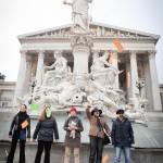 Flashmob gegen gemeinsame Obsorge durch Gerichtsurteil verordnet