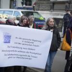 Kundgebung spanische Botschaft